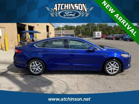 2016 Ford Fusion for sale at Atchinson Ford Sales Inc in Belleville MI