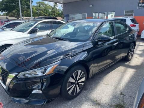 2021 Nissan Altima for sale at P J Auto Trading Inc in Orlando FL