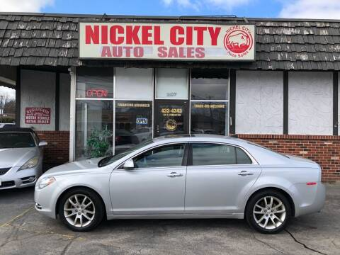 2012 Chevrolet Malibu for sale at NICKEL CITY AUTO SALES in Lockport NY
