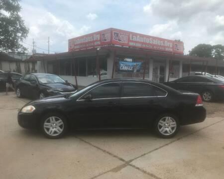 2011 Chevrolet Impala for sale at LA Auto Sales in Monroe LA