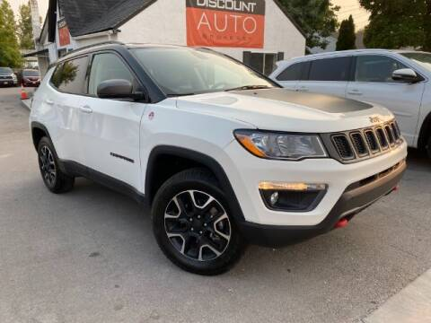2020 Jeep Compass for sale at Discount Auto Brokers Inc. in Lehi UT