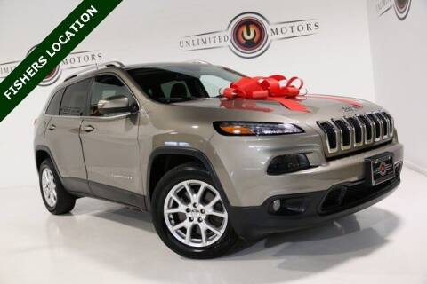 2017 Jeep Cherokee for sale at Unlimited Motors in Fishers IN
