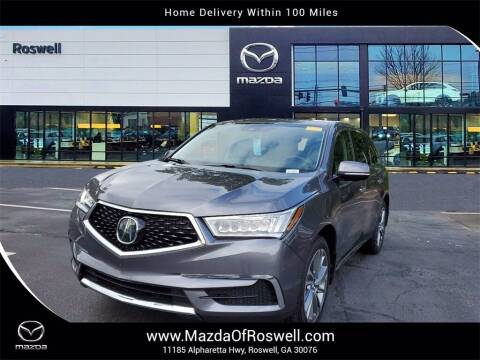 2017 Acura MDX for sale at Mazda Of Roswell in Roswell GA
