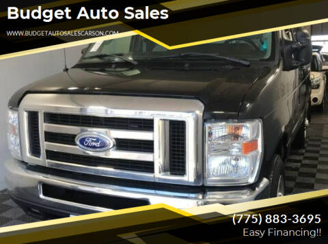2014 Ford E-Series Cargo for sale at Budget Auto Sales in Carson City NV