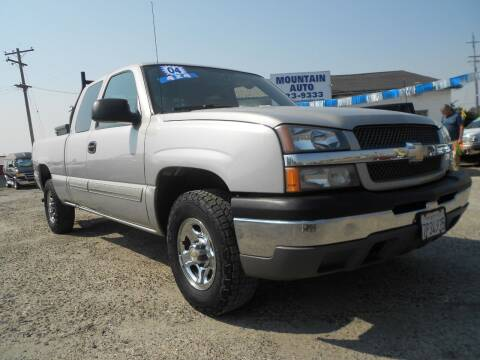2004 Chevrolet Silverado 1500 for sale at Mountain Auto in Jackson CA