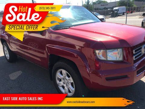 2006 Honda Ridgeline for sale at EAST SIDE AUTO SALES INC in Paterson NJ