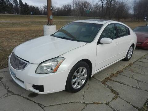 2007 Nissan Maxima for sale at Dales Auto Sales in Hutchinson MN