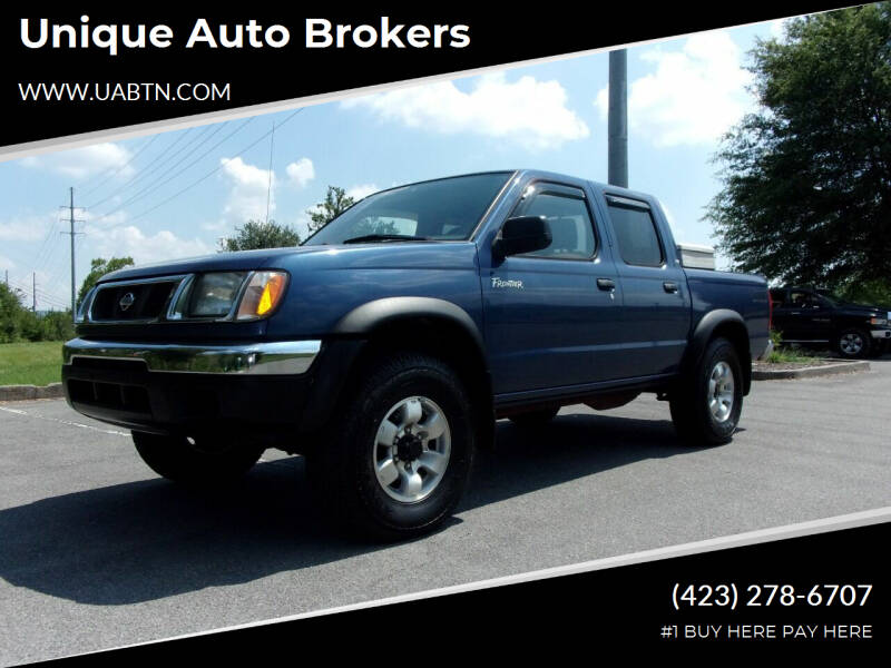 2000 Nissan Frontier for sale at Unique Auto Brokers in Kingsport TN