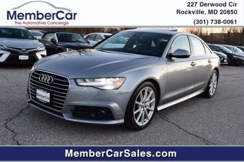 2018 Audi A6 for sale at MemberCar in Rockville MD