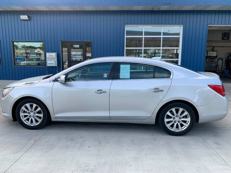2015 Buick LaCrosse for sale at Twin City Motors in Grand Forks ND