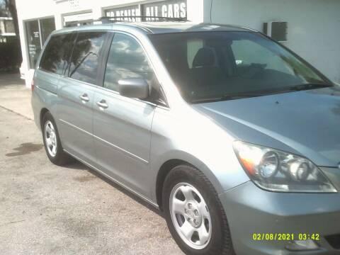 2007 Honda Odyssey for sale at ROYAL MOTOR SALES LLC in Dover FL