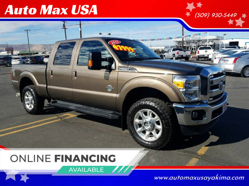 2016 Ford F-350 Super Duty for sale at Auto Max USA in Yakima WA
