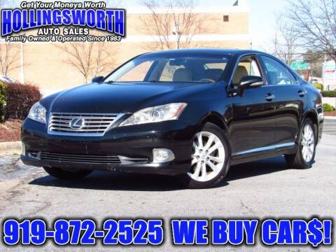 2010 Lexus ES 350 for sale at Hollingsworth Auto Sales in Raleigh NC