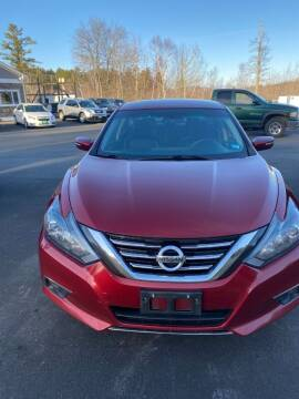 2018 Nissan Altima for sale at Mascoma Auto INC in Canaan NH