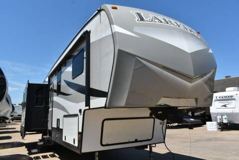 2015 Keystone Laredo 355RL for sale at Buy Here Pay Here RV in Burleson TX
