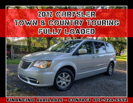 2012 Chrysler Town and Country for sale at AFFORDABLE ONE LLC in Orlando FL