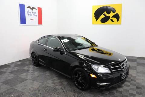2014 Mercedes-Benz C-Class for sale at Carousel Auto Group in Iowa City IA