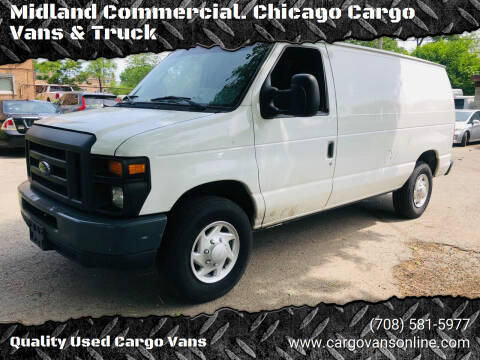 2014 Ford E-Series Cargo for sale at Midland Commercial. Chicago Cargo Vans & Truck in Bridgeview IL