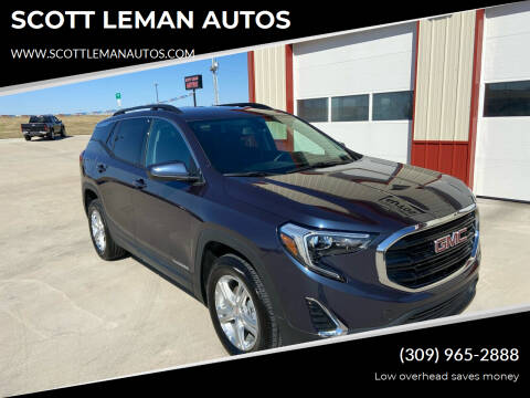 2019 GMC Terrain for sale at SCOTT LEMAN AUTOS in Goodfield IL