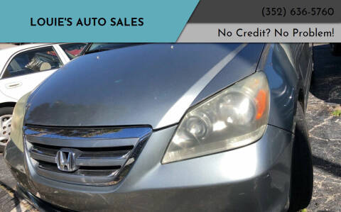 2005 Honda Odyssey for sale at Louie's Auto Sales in Leesburg FL