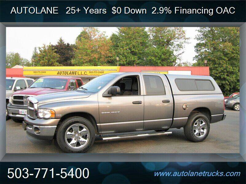2005 Dodge Ram Pickup 1500 for sale at Auto Lane in Portland OR