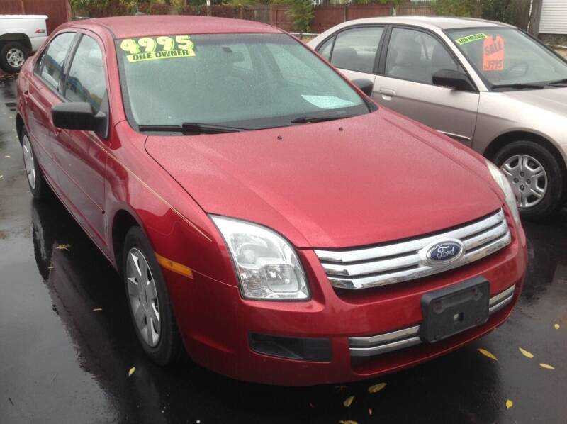 2009 Ford Fusion for sale at Sindic Motors in Waukesha WI