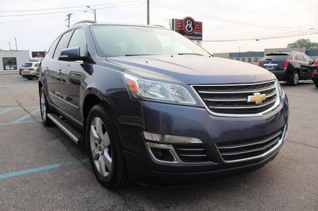 2013 Chevrolet Traverse for sale at B & B Car Co Inc. in Clinton Township MI