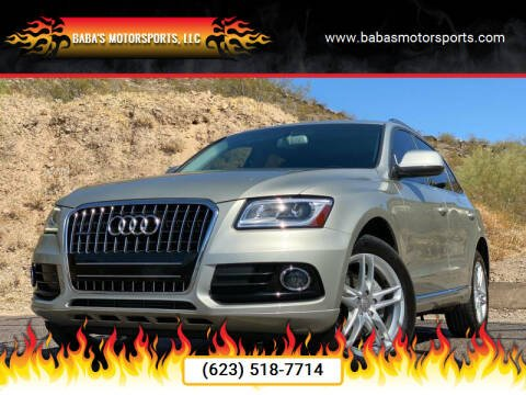 2014 Audi Q5 for sale at Baba's Motorsports, LLC in Phoenix AZ