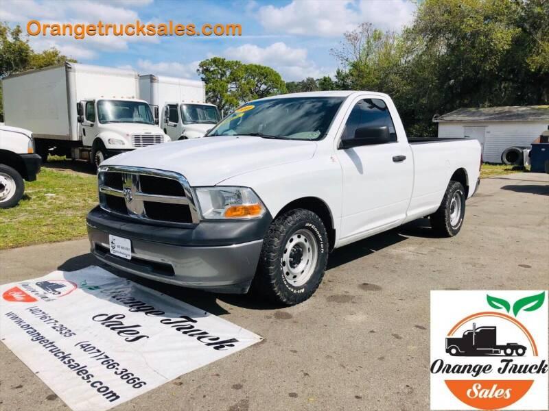 2011 RAM Ram Pickup 1500 for sale at Orange Truck Sales in Orlando FL