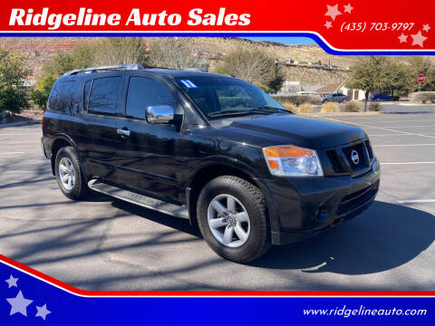 2011 Nissan Armada for sale at Ridgeline Auto Sales in Saint George UT