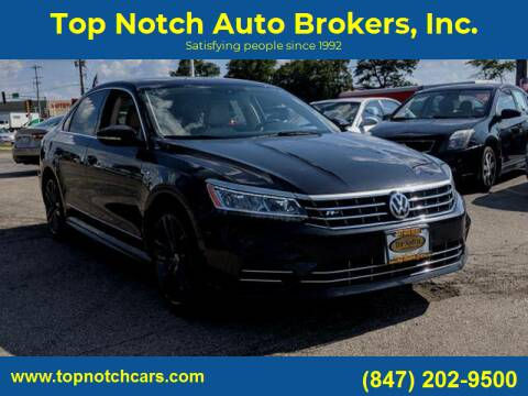 2017 Volkswagen Passat for sale at Top Notch Auto Brokers, Inc. in Palatine IL