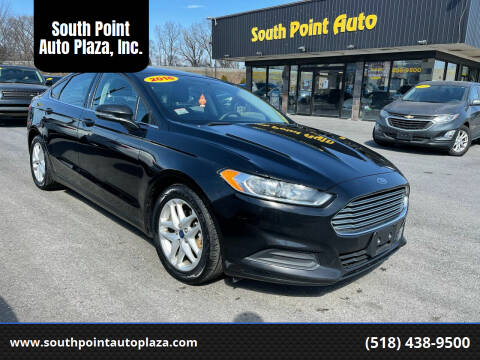 2016 Ford Fusion for sale at South Point Auto Plaza, Inc. in Albany NY