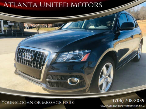 2012 Audi Q5 for sale at Atlanta United Motors in Jefferson GA