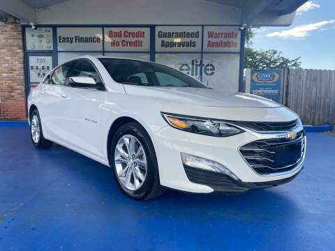 2020 Chevrolet Malibu for sale at ELITE AUTO WORLD in Fort Lauderdale FL