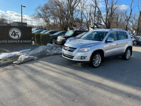 2010 Volkswagen Tiguan for sale at Station 45 Auto Sales Inc in Allendale MI