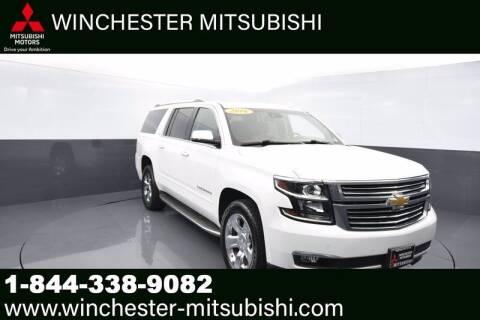 2016 Chevrolet Suburban for sale at Winchester Mitsubishi in Winchester VA