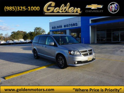 2019 Dodge Grand Caravan for sale at GOLDEN MOTORS in Cut Off LA