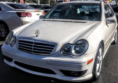 2005 Mercedes-Benz C-Class for sale at Celebrity Auto Sales in Port Saint Lucie FL