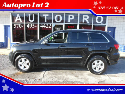 2011 Jeep Grand Cherokee for sale at Autopro Lot 2 in Sunbury PA