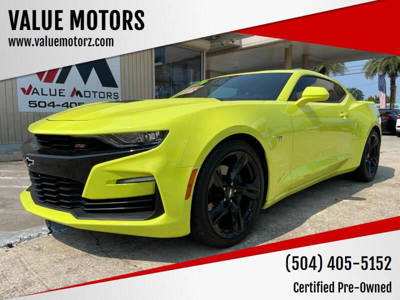 2019 Chevrolet Camaro for sale at VALUE MOTORS in Kenner LA
