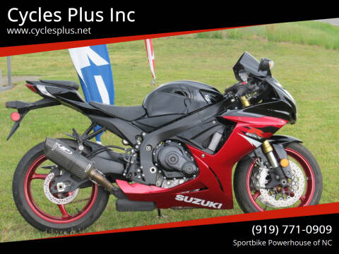 2018 Suzuki GSXR 750 for sale at Cycles Plus Inc in Garner NC