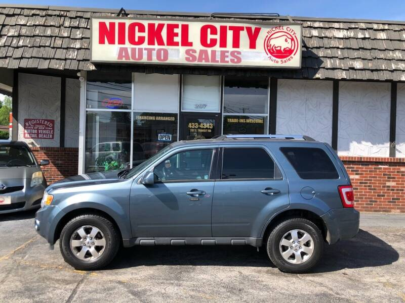 2012 Ford Escape for sale at NICKEL CITY AUTO SALES in Lockport NY