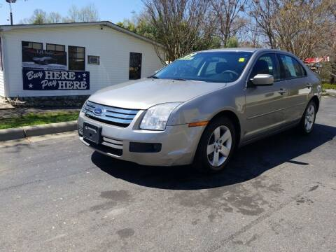 2009 Ford Fusion for sale at TR MOTORS in Gastonia NC