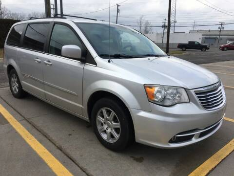 2012 Chrysler Town and Country for sale at City Auto Sales in Roseville MI