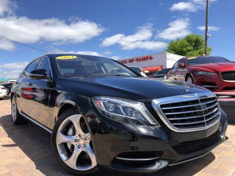 2014 Mercedes-Benz S-Class for sale at Cars of Tampa in Tampa FL