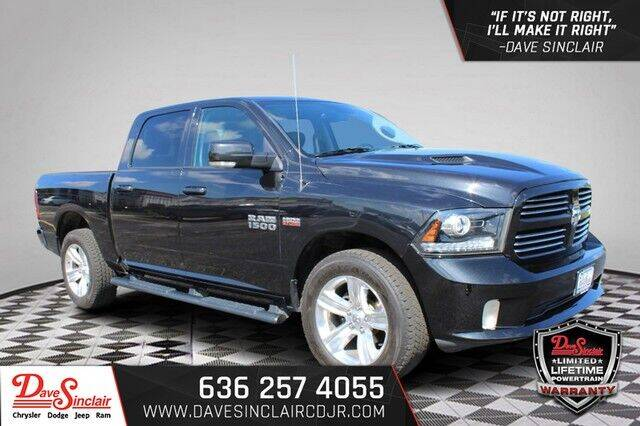 2017 RAM Ram Pickup 1500 for sale at Dave Sinclair Chrysler Dodge Jeep Ram in Pacific MO