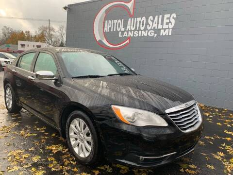 2014 Chrysler 200 for sale at Capitol Auto Sales in Lansing MI