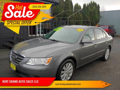 2010 Hyundai Sonata for sale at KENT GRAND AUTO SALES LLC in Kent WA