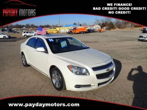 2011 Chevrolet Malibu for sale at Payday Motors in Wichita And Topeka KS