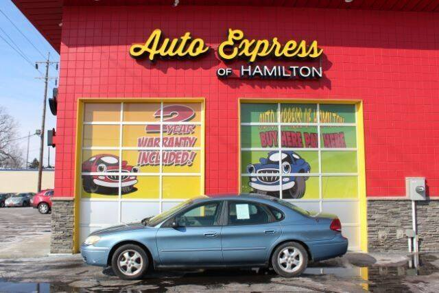 2006 Ford Taurus for sale at AUTO EXPRESS OF HAMILTON LLC in Hamilton OH